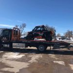 Olson Towing Truck with off road vehicle